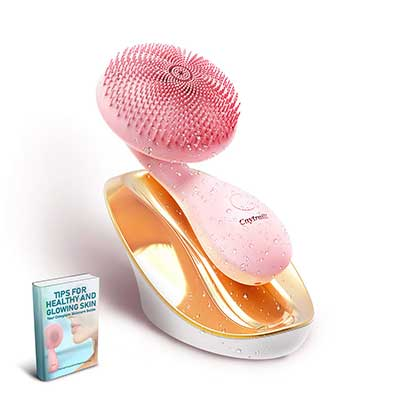 Silicone Facial Cleansing Brush, Ultrasonic face