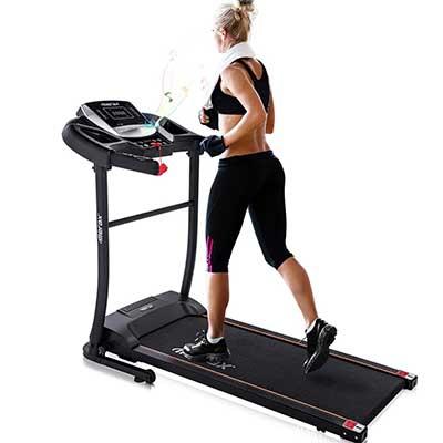 Merax Electric Folding Treadmill