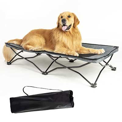 YEP HHO Large Elevated Folding Pet Bed