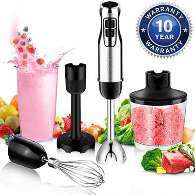 BSTY 5-in-1 Hand Blenders Set 15-Speeds
