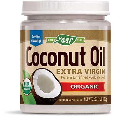 Nature's Way Organic Extra-Virgin Coconut Oil, Pure&Unrefined
