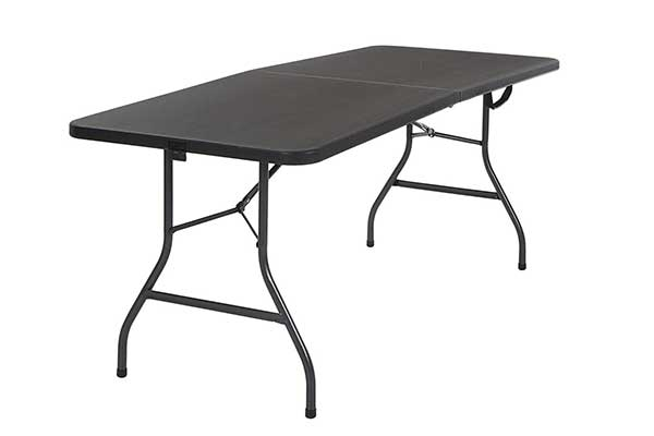 Cosco Deluxe 6 Foot x 30 Inch Blow Molded Folding Table