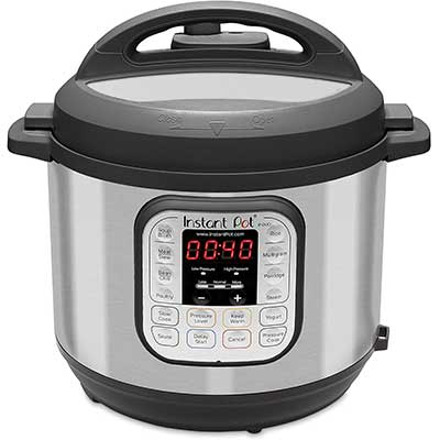 10. Instant Pot Duo 7-in-1 Electric Pressure Cooker & Rice Cooker