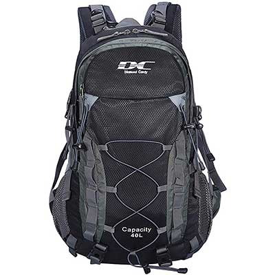7. Diamond Candy 40L Waterproof Backpack Hiking Day