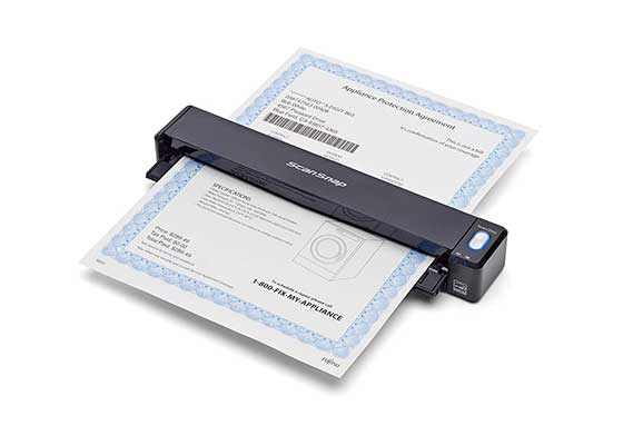 Fujitsu PAO3688-BOO5 ScanSnap Wireless Mobile Scanner