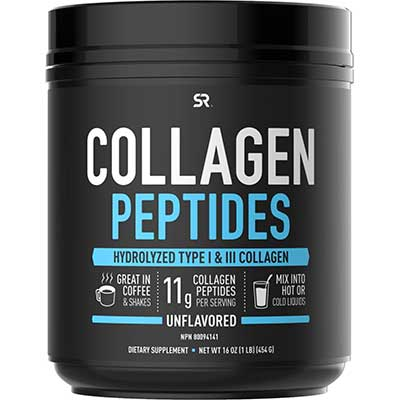 9. Collagen Peptides Powder by Sports Research