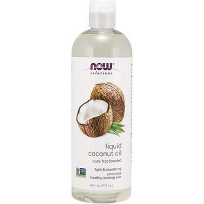 NOW Solutions, Liquid-Coconut Oil, Light & Nourishing