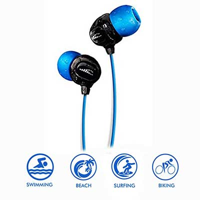 Waterproof Headphones for Swimming – Surge S+
