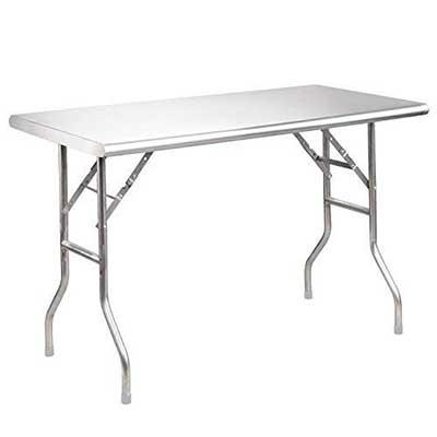 Royal Gourmet Stainless Steel Folding Work Table