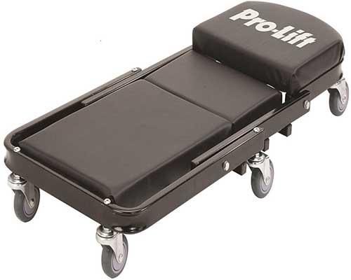 """Pro-Lift C-9100 Black 450 Pounds 40"""" Foldable Creeper"""