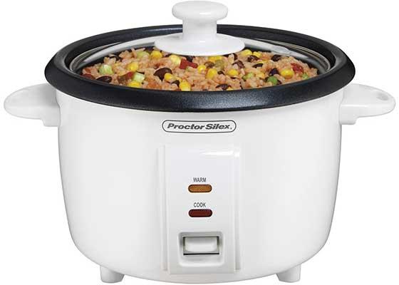 8. Proctor Silex Rice Cooker & Food Steamer
