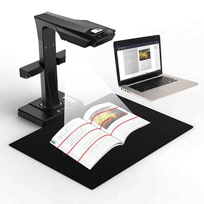 6. CZUR ET16 Plus Advanced Book & Document Scanner
