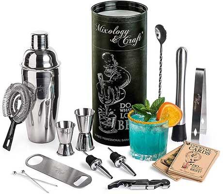 8. Mixology Bartender Kit