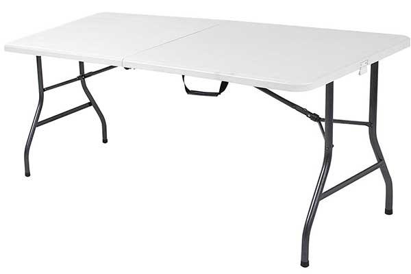 Ontario Furniture 6 Foot Plastic Folding Table