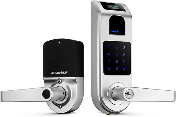 Fingerprint Door Lock, ARDWOLF A10 Smart Biometric Door Lock