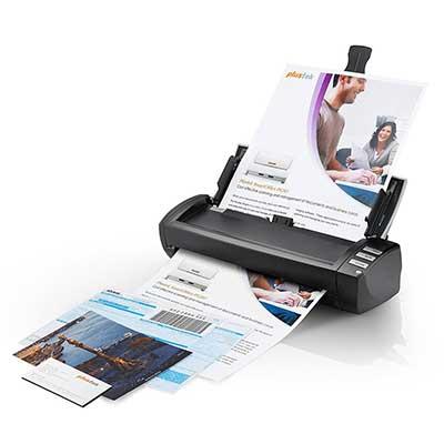 2. Plustek AD480 – Desktop Scanner for Card and Document