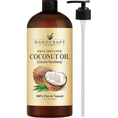 Fractionated Coconut Oil – 100% Pure & Natural Premium Therapeutic Grade