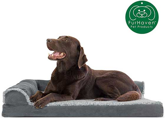 10. Furhaven Pet Dog Bed