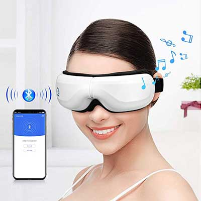 4. Bromose Wireless Foldable Rechargeable Eye Massager