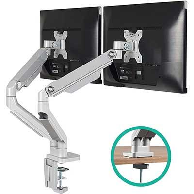 7. EleTab Dual Arm Monitor Stand