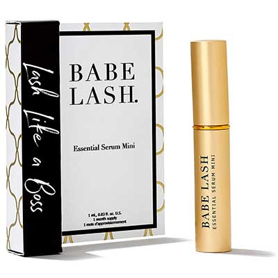 6. Babe Lash Natural, Fuller & Long Eyelash & Brow Serum