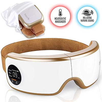 Stress Therapy Electric Eye Massager – Wireless Digital Mask Machine