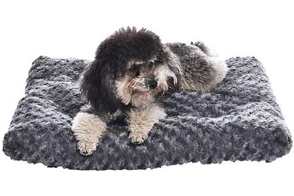 4. AmazonBasics Plush Dog Pet Bed Pad