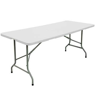 FORUP 6FT TABLE, Folding Utility Table