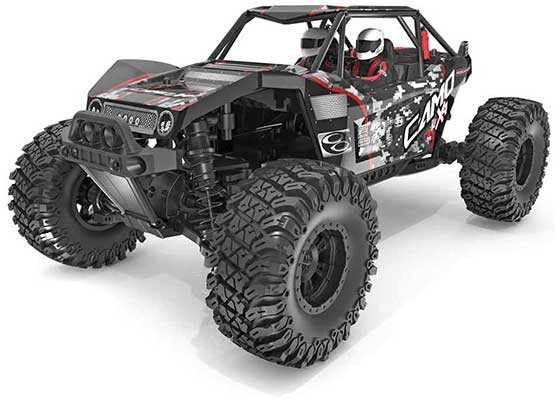 Redcat Racing-Camo X4-PRO 1/10 Scale Brushless Electric Rock-Race
