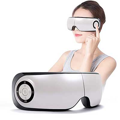 Electric Eye_Massager with heat Temple Massager-Eyes