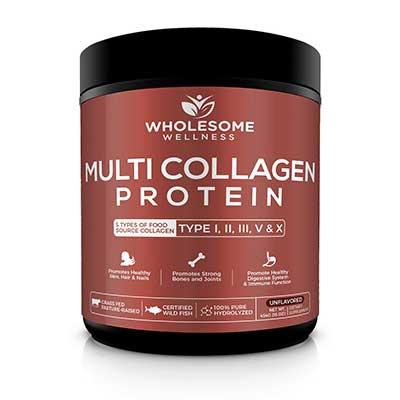 Multi Collagen Protein Powder Hydrolyzed – Type I-V