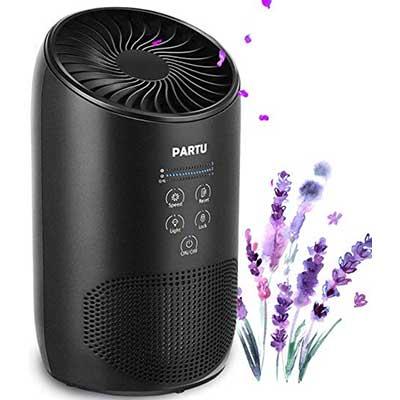 10. PARTU HEPA Air Purifier – Smoke Air Purifier