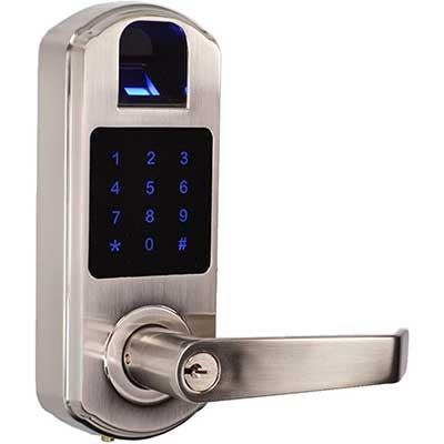 SCYANX9 Fingerprint Touchscreen Door Lock