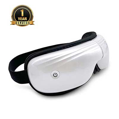 Belovedone Eye Massager with Heat Temple Massager Air Compression