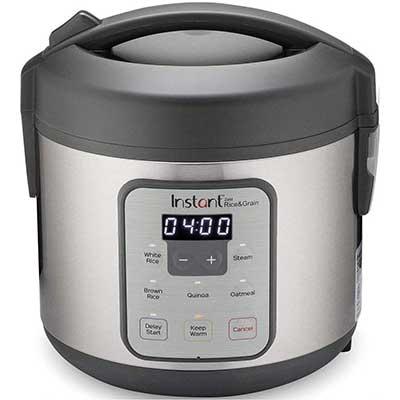 5. Instant Zest Rice Cooker, Grain Maker, Steamer