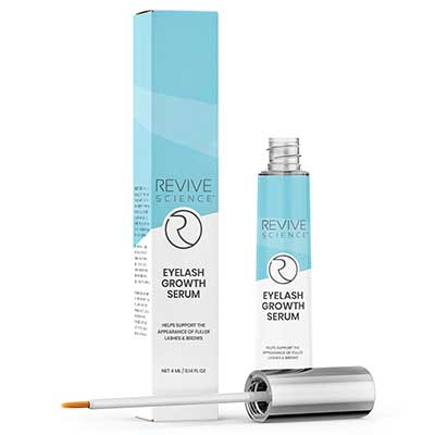 1. Revive Science Eyelash & Eyebrow Growth Serum Enhancer