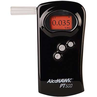 AlcoHAWK PT500 Breathalyzer, Fuel Cell Sensor