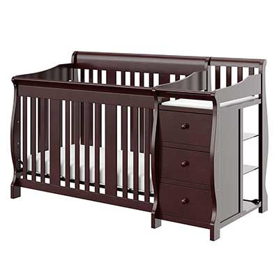 Storkcraft Portofino 4-in-1 Fixed Side Convertible Crib