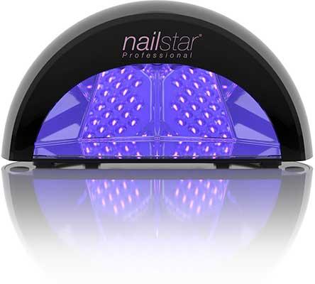NailStar Professional 12W LED Nail Dryer Nail Lamp for Gel Polish