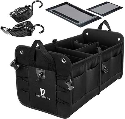 Trunkcratepro Collapsible Multi Compartments Organizer
