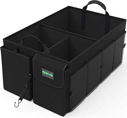 Drive Auto Products Foldable Car Cargo Trunk Organizer