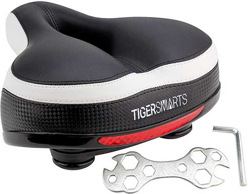 TIGERSMARTS Bike Seat Replacement Padded Comfortable Seat