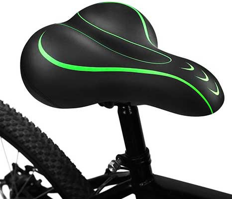 BLUEWIND Bike Seat, Most Comfortable Bicycle Seat