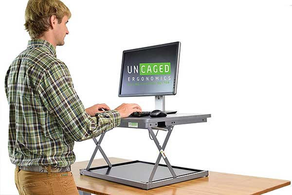 CHANGEdesk MINI Small Adjustable Standing Desk Converter