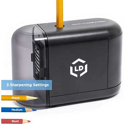 LD Products Professional Electric Pencil Sharpener