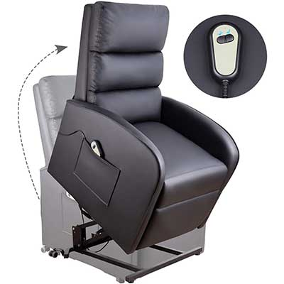 Homall Electric Power Lift Chair Recliner Chair Sofa