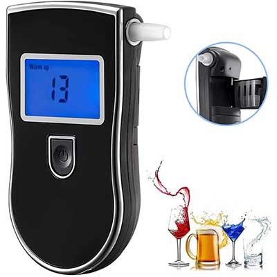 Personal Breathalyzer, Portable Breath Alcohol Tester Digital