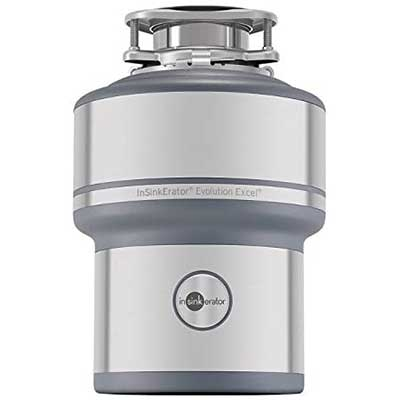 InSinkErator Garbage Disposal, Evolution Excel, 1.0HP
