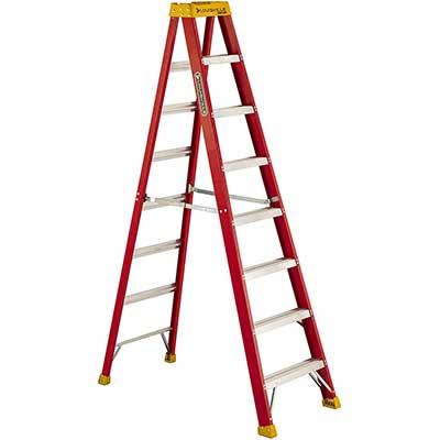 Louisville Ladder 300-Pound Fiberglass Stepladder