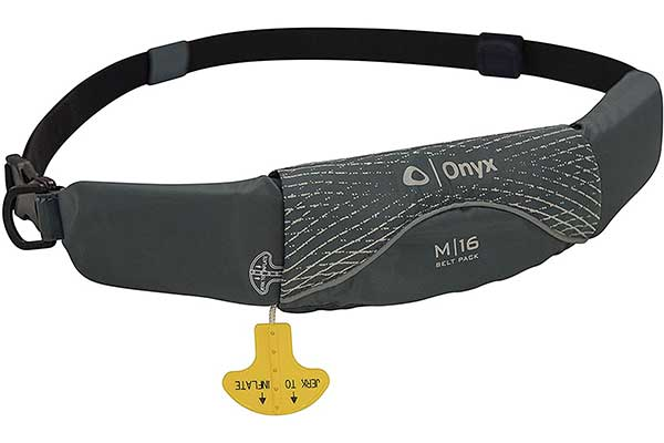 Onyx M16 Belt Manual Inflatable Life Jacket